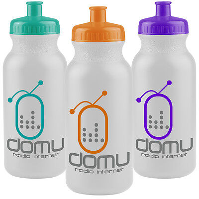 200 Promotional Made in the USA UNION MADE 20 oz BPA FREE Bike Sport - Sports Bottles In Bulk