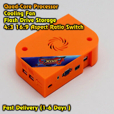 PANDORA BOX 5 JAMMA ARCADE SYSTEM 960 HD HDMI VGA QUAD CORE GAMES GAME STICK USA