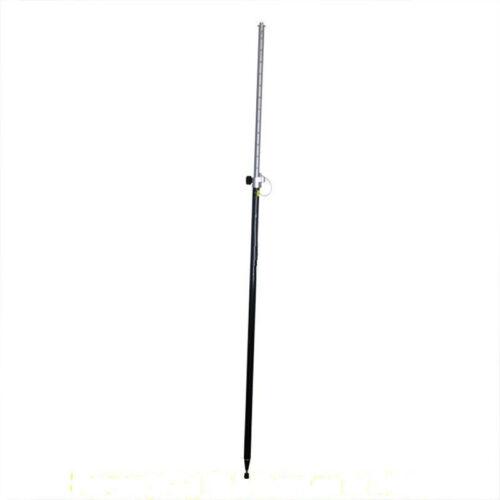 Telescopic Carbon Fiber Survey GPS Prism Pole Rod (2.45 Meter)