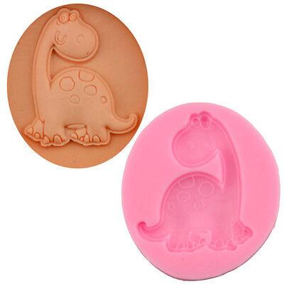 Dinosaur 3D Animals Silicone Fondant Chocolate Candy Cake Decor Tool Baking Mold - Dinosaur Molds