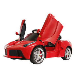 La Ferrari Electric Ride On Toy Car / Kids Electric Red Ferrari