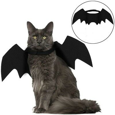 Cat Costume Halloween Bat Wings Pet Costumes Pet Apparel for Small Dogs and Cats (Cat Costumes Halloween)