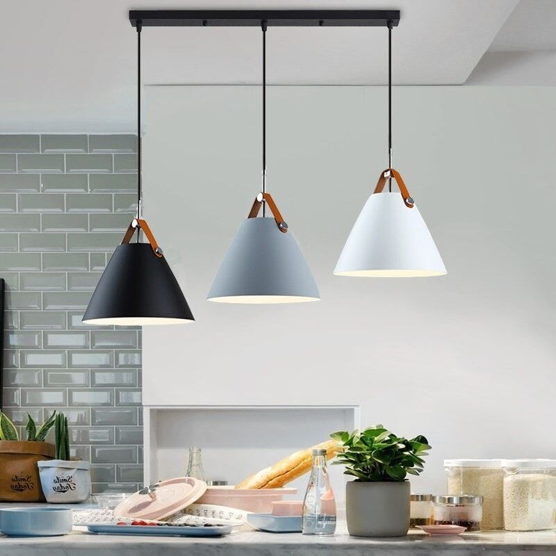Details about Bar Pendant Lighting Home Lamp Kitchen Pendant Light Room  Modern Ceiling Lights