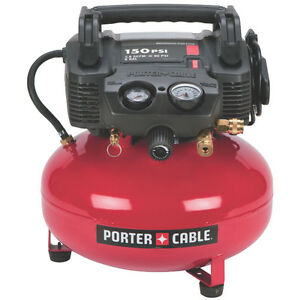 porter cable c2002 compresseur 6 gallons 150psi