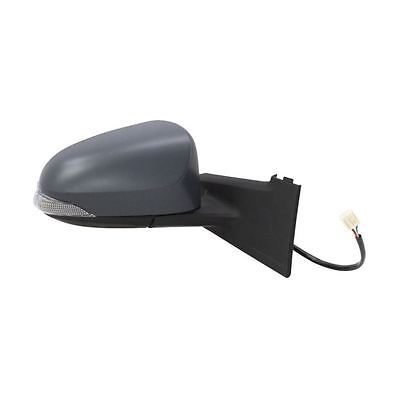 For Toyota Yaris 2011 2017 Electric Wing Door Mirror Primed Cover Drivers Side