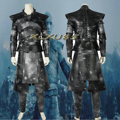 Game of Thrones A Song of Ice and Fire Night's King Cosplay Costume Halloween