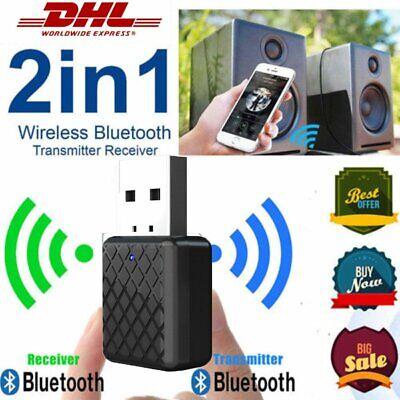 USB Bluetooth V5.0 Audio Transmitter Sender für TV PC Lautsprecher Kopfhörer DHL Bluetooth Pc Kopfhörer