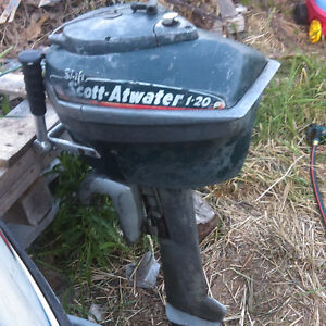 Scott Atwater 7.5hp outboard
