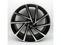 "19"" Spielberg Alloy Wheel and Tyre Package 5X112 Golf, Jetta, Passat, Seat Leon, Exeo, Audi A3, TT"