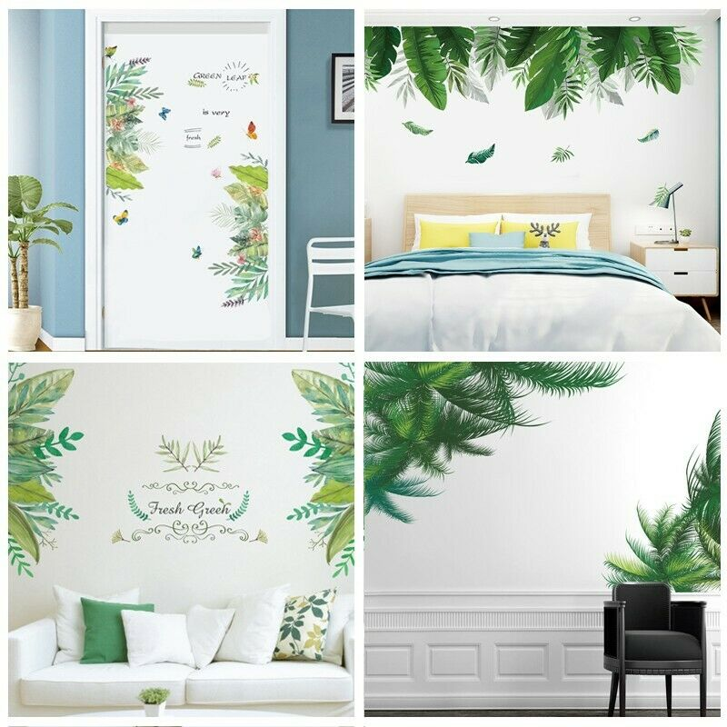 Home Decoration - Background Decal Mural Decoration Door Decor Wall Sticker Room Wall Art