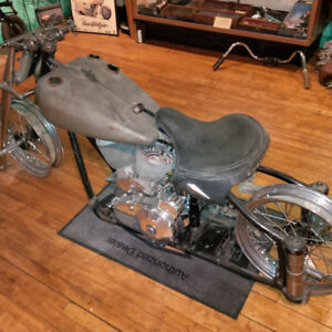 FOR SALE ABOUT 75% OF 1947  INDIAN CHIEF PROJECT