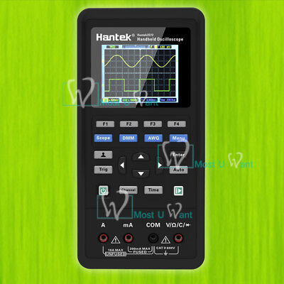 3in1 Handheld Digital Oscilloscope Signal Source Multimeter 70mhz 2ch Awg Usb