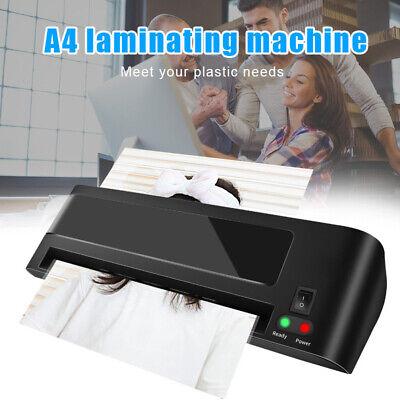 Lamination Machine Thermal Laminator Office Home A4 Paper Photo Film Laminate