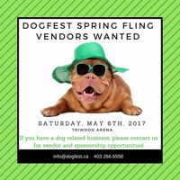 DogFest Spring Fling - vendors wanted