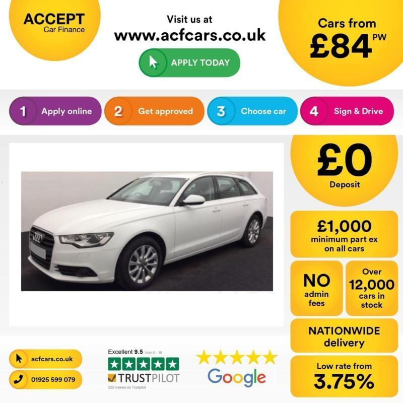 Audi A6 FROM £84 PER WEEK!