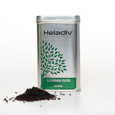 HELADIV Loose Leaf Black Tea Nuwara Eliya 100g Tin