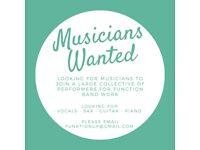 Bristol Musicians Wanted
