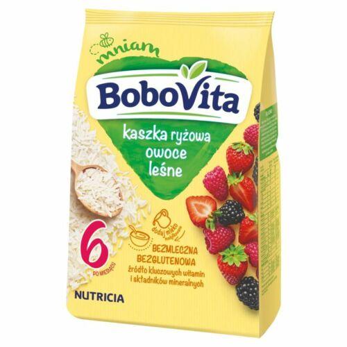 Nutricia Aptamil BoboVITA rice porridge: Forest Fruit 6 months on FREE SHIP