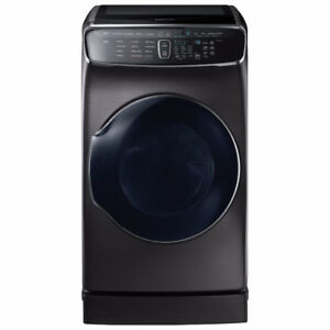 Samsung 7.5 Cu. Ft. Electric Steam Dryer with Flex Dry Brand new