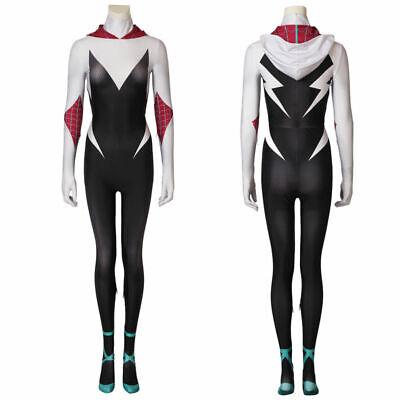 Spider-Gwen3 D Print Overall Gwen Stacy Skin Spandex - Spandex Body Kostüm