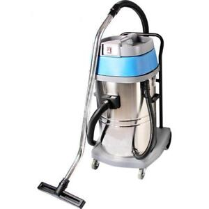 Industrial 220v Stainless Steel Wet/Dry Blower Shop Vacuum Cleaner Blue 30L (020318)