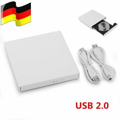 USB externe kombiniertes optisches Laufwerk DVD Spieler CD Brenner für PC Laptop