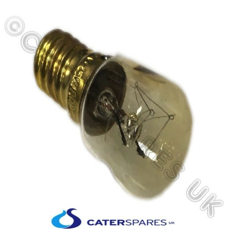INDICATOR LAMP//LIGHT NEON 230V E31 fits a 9mm hole  for oven or BAIN MARIE 120^