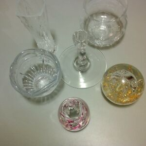 Cyrstal and Glass Misc Items - 6 in total Gatineau Ottawa / Gatineau Area image 1