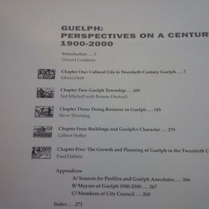 Guelph: Perspectives on a Century of Change 1900-2000 Kitchener / Waterloo Kitchener Area image 3