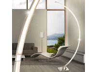 Globo Sahara Standing Floor Arc Lamp