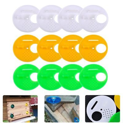 12pcs 3 Colors Beekeepers Box Entrance Gates 68mm For Top Bar Hives Nuc P3c6