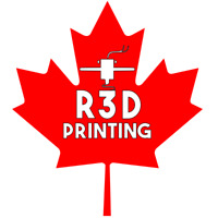 R3D Printing | Affordable 3D Printing. Proudly Canadian.