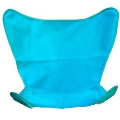 Algoma Replacement Cover for Butterfly Chair Teal Cotton Duck Fabric Chair NEW