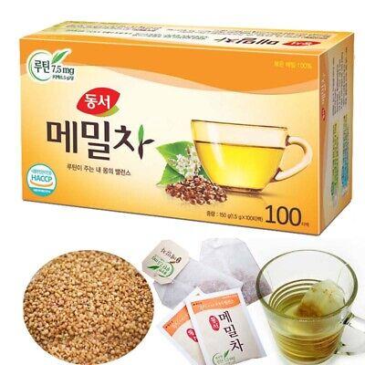 Korean DONGSUH Buckwheat Tea 100 Tea bags (1.5g x 100 bags) herbal Healthy