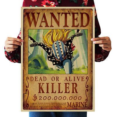 US Seller- killer WANTED anime manga cosplay poster master bedroom ideas - Anime Cosplay Ideas