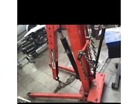 2 ton hydraulic crane clarke strong-arm