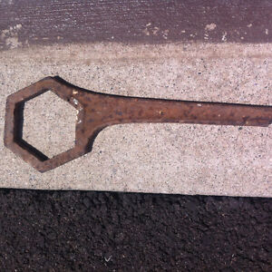 Antique Wheel Wrench