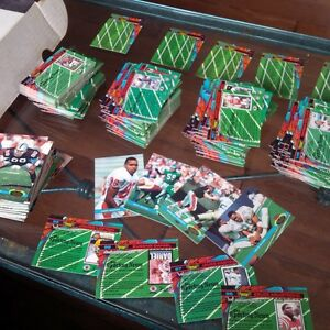 Topps Stadium Club Football Cards, 1991, Complete 500 In Set