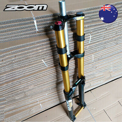 "ZOOM 26/"" Downhill Fork Mountain Bike Suspension Fork DH680 20mm Thru Axle Disc"