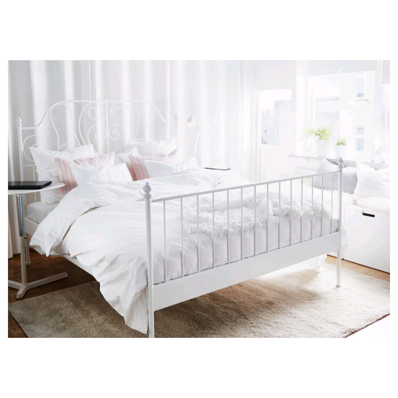 White Ikea Bed Frame In Cardiff Bay Cardiff Gumtree