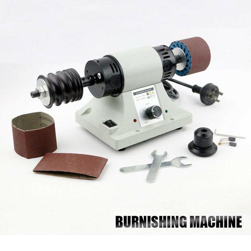 110/220V Leather Polishing Burnishing Machine Leather Edge Grinding Machine New