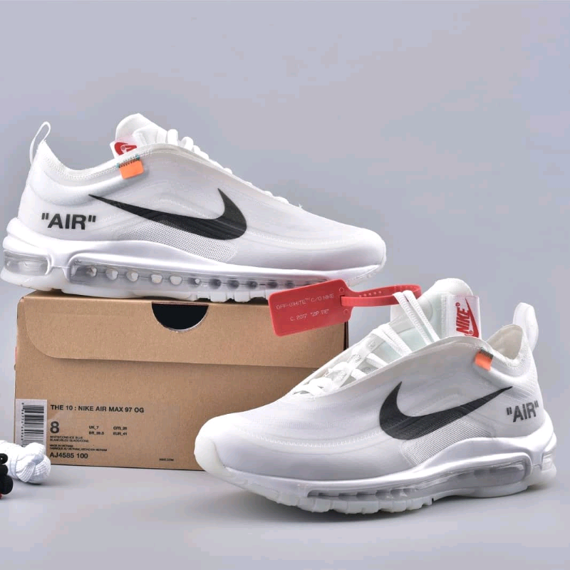 Nike x Off White Airmax 97 white | in Manchester City Centre, Manchester | Gumtree