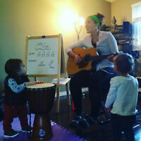 CREATE - Toddler Music and Yoga (18months - 3yrs