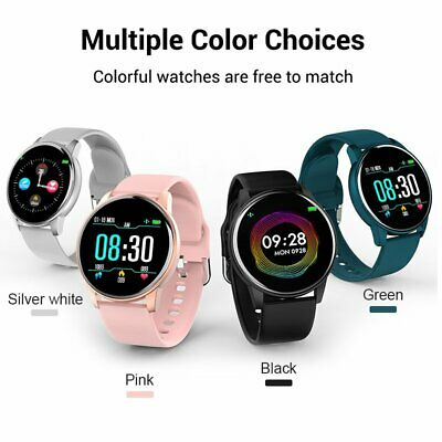 Waterproof Smart Watch Fitness Tracker Bluetooth Blood Pressure Heart Rate Band