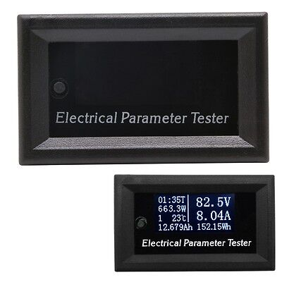 Multifunction Electrical Parameter Meter Voltage Current Power Energy Tester