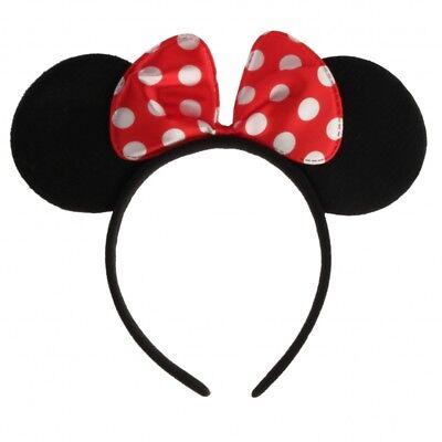 Haarreif Maus Ohren mit Schleife Fastnacht Fasching Karneval Kostüm Maus  (Maus Kostüm Ohren)