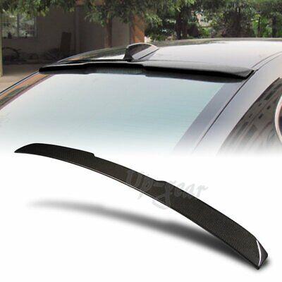 For 2004-2010 BMW E60 525i 528i 530i Real Carbon Fiber Rear Window Roof Spoiler