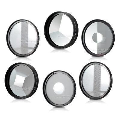 Set Effektfilter passend für Canon EOS 800D 2000D 4000D und 18-55 Objektiv