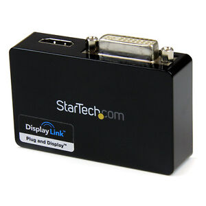 StarTech.com USB 3.0 to HDMI and DVI  Dual Monitor Adapter