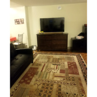 FURNISHED ROOM FOR RENT IN FULLY FURNISHED 3 BDR APARTMENT -NOW